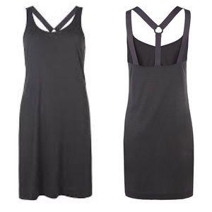 Allsaints Reala Dress Open Back Strappy Size 8